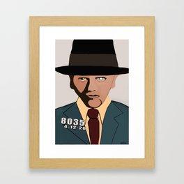 Bugsy Siegel Framed Art Print
