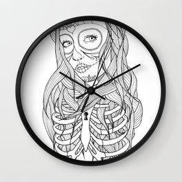 Princess of Death Wall Clock