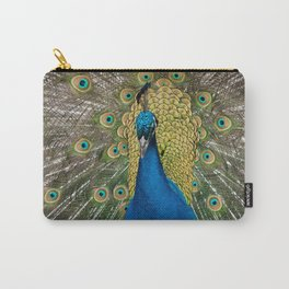 Pavo Real Carry-All Pouch