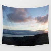 law Wall Tapestries featuring Dundee Law 4 by RMK Creative