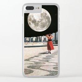 Moonwalk Clear iPhone Case