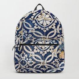 Portuguese glazed tiles Backpack