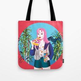 Pizza Girl Tote Bag