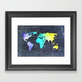 The World Belongs to you Framed Art Print