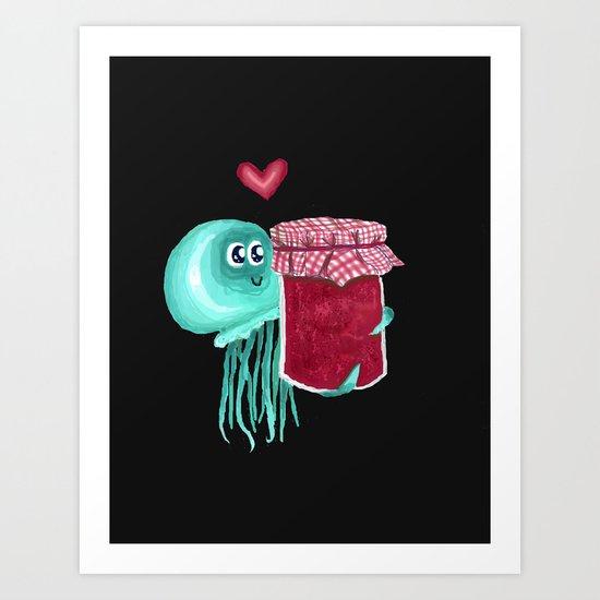 jelly's soul mate Art Print