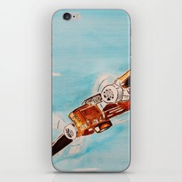 Avion blue horizon iPhone Skin