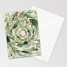 Nature in circles Stationery Cards