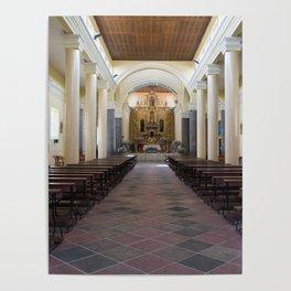 Iglesia El Jordan Poster