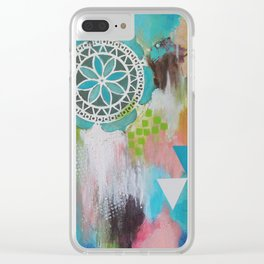 Lovely Memory Clear iPhone Case