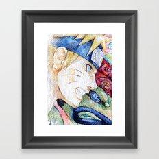 Nauto Watercolor Framed Art Print