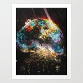Oh what a great day Art Print