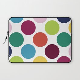 Colorful Dots Laptop Sleeve