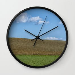 BETWEEN EARTH AND SKY Wall Clock