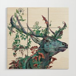 Heart Of The Forest Wood Wall Art