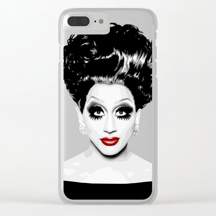 Bianca Del Rio, RuPaul's Drag Race Queen Clear iPhone Case