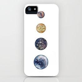 Moons of Jupiter iPhone Case