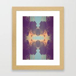 Sanibel Sunset Framed Art Print