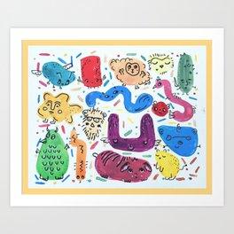 Lil guys Art Print