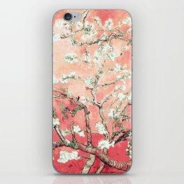 Van Gogh Almond Blossoms : Peach iPhone Skin