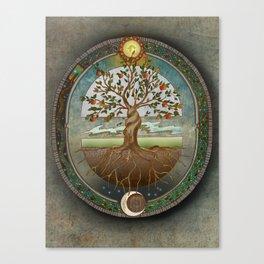 Ouroboros Canvas Print