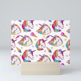 RAINBOW--UNICORN Mini Art Print