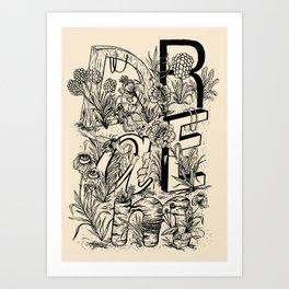 """""""DRAEM"""" Dream Art Print"""