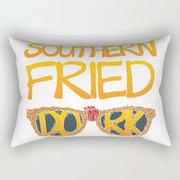 Southern Fried Dork Rectangular Pillow