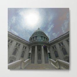 Wisconsin State Capitol (Madison, WI) Metal Print