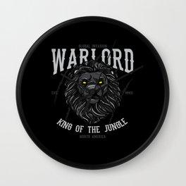 Lion Head Lion Motif Wall Clock
