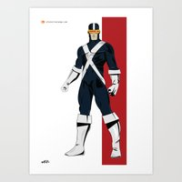 cyclops Art Prints featuring Cyclops by Andrew Formosa