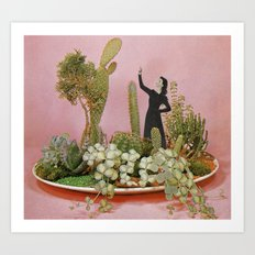 The Wonders of Cactus Island Art Print