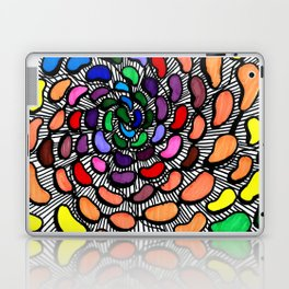 The Jelly Bean Explosion Laptop & iPad Skin