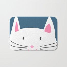 Cat head Bath Mat