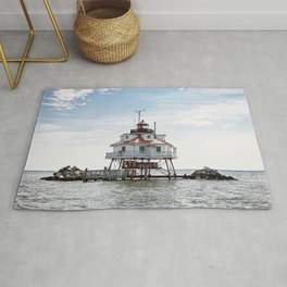 Thomas Point Lighthouse Rug