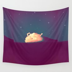 Bed Time #2 Wall Tapestry