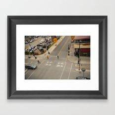 Tilt Montreal Framed Art Print
