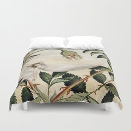"""A Fairy Resting in a Hammock"" by Amelia Jane Murray Duvet Cover"