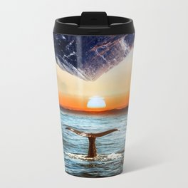 A whale and a morning Metal Travel Mug