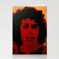 rocky horror Stationery Cards featuring The Rocky Horror Picture Show by Rabassa