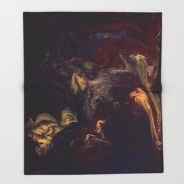 Depths of the Soul Throw Blanket
