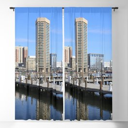 Baltimore's Inner Harbor and World Trade Center Blackout Curtain
