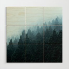 Japanese Forest Wood Wall Art