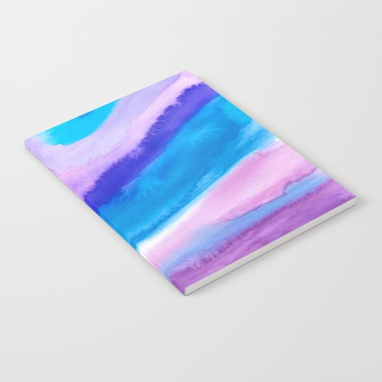 AGATE Inspired Watercolor Abstract 11 Notebook