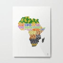 Africa #1 Metal Print