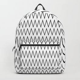 Minimalist Chevron Backpack