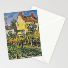 Vincent van Gogh - The House of Pere Eloi Stationery Cards