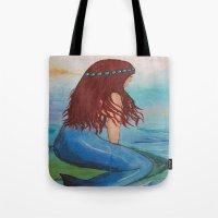marina Tote Bags featuring Marina by Ashalika