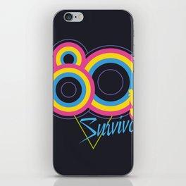 80's Survivor iPhone Skin