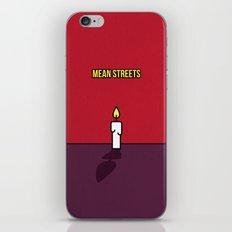 Mean Streets Minimalist iPhone & iPod Skin