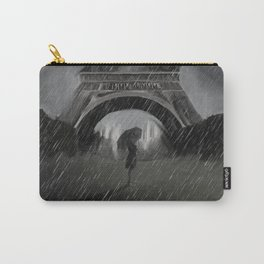 Ghost in Noir Paris Carry-All Pouch